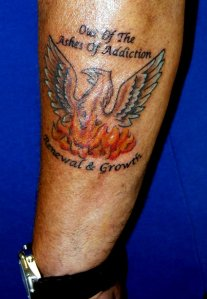 phoenix tattoo addiction