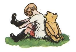 Christopher Robin Pooh boots
