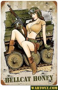 hellcat honey sign, girls with guns wallpaper