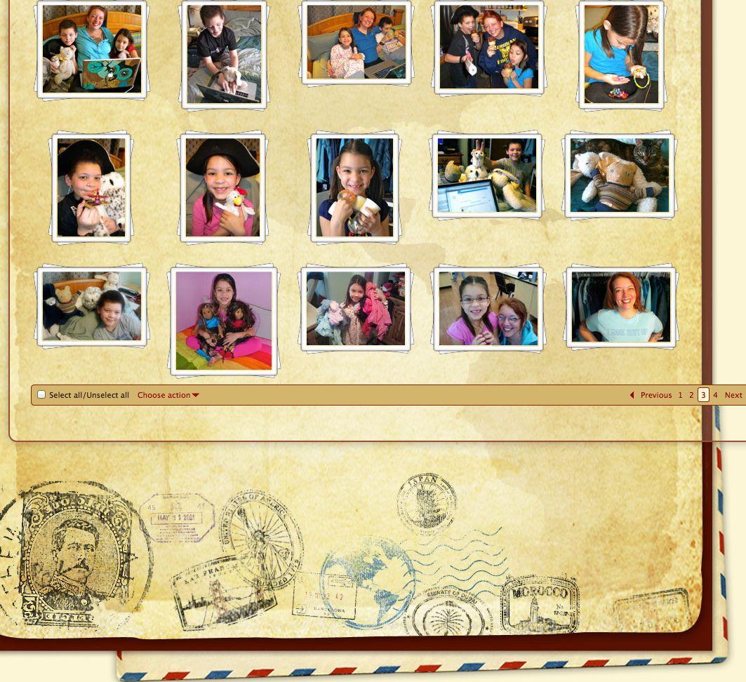 photo album page