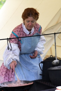 Civil War camp cook