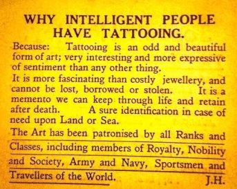 tattoo commentary