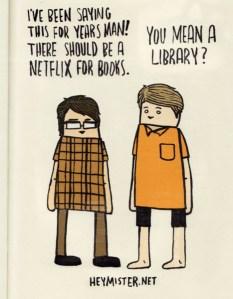 Netflix vs. Library