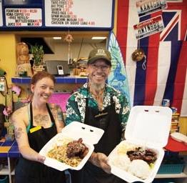 Kana Girl's Hawaiian BBQ