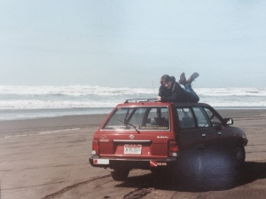 Subaru Washington beach