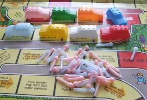 "Milton-Bradley's ""Life"" board game"