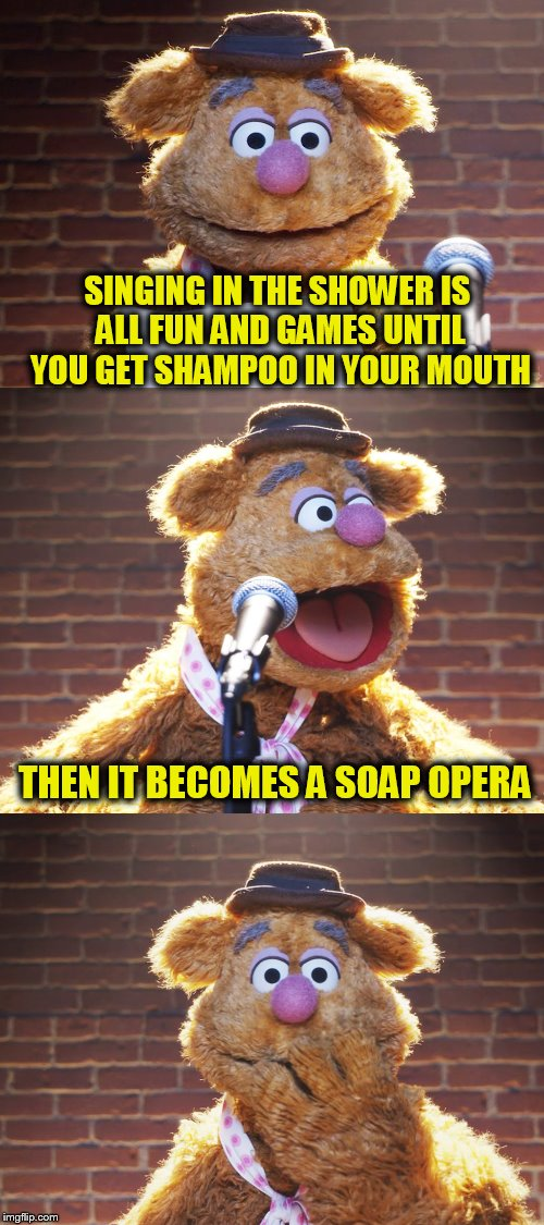 Fozzie Bear soap opera