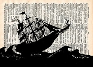 sailing ship dictionary page