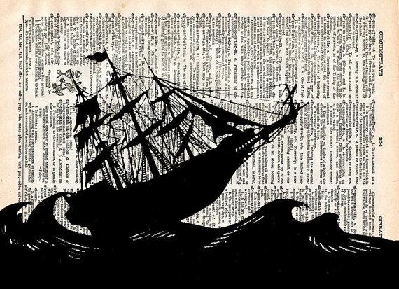 sailing ship dictionary page
