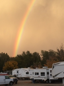 RV park rainbow