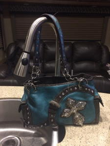 purse kitchen sink