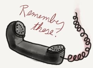 "landline phone cord ""remember these?"""
