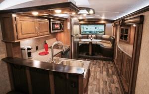 Montana RV kitchen
