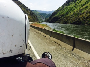 Idaho highway motorcycle