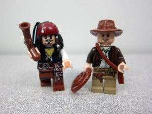 Lego Jack Sparrow Indiana Jones