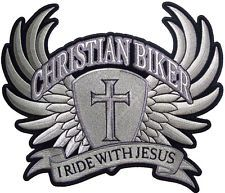 Christian biker I ride with Jesus
